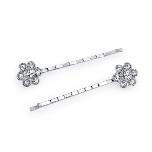 1928 Flower Bobby Pin Set