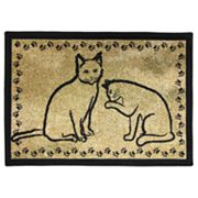 Park B. Smith Kitty Pals Tapestry Pet Rug