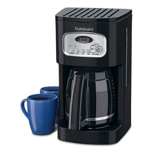 Cuisinart Black 12-cup Programmable Coffee Maker