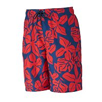 Men's SONOMA Goods for Life™ Floral Microfiber Swim Trunks
