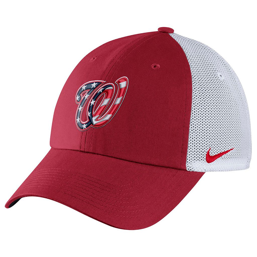 Adult Nike Washington Nationals Heritage86 Dri-FIT Adjustable Cap