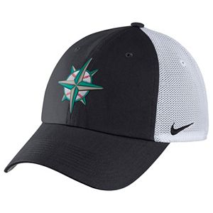 Adult Nike Seattle Mariners Vapor Classic Stretch-Fit Cap 3d39a5f9c63