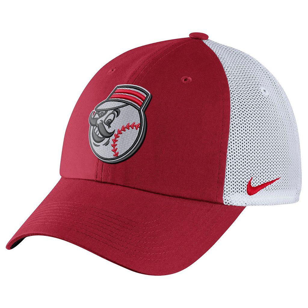 Adult Nike Cincinnati Reds Heritage86 Dri-FIT Adjustable Cap
