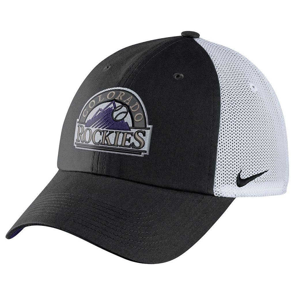 Adult Nike Colorado Rockies Heritage86 Dri-FIT Adjustable Cap