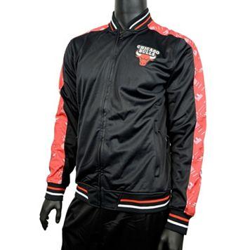 Men's Zipway Chicago Bulls Signature Basics Jacket