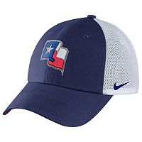 Adult Nike Texas Rangers Heritage86 Dri-FIT Adjustable Cap