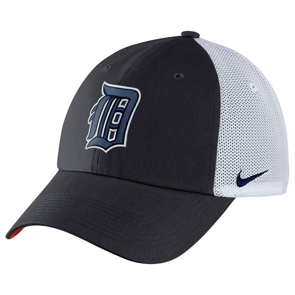 Adult Nike Detroit Tigers Heritage86 Dri-FIT Adjustable Cap