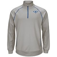 Majestic Youth Baseball Quarter-Zip Performance Pullover