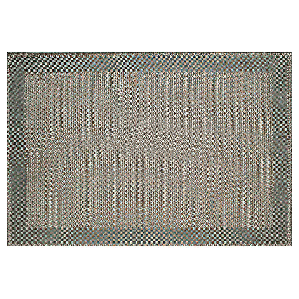 SONOMA Goods for Life™ Solid Border Indoor Outdoor Rug