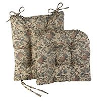 The Gripper 2 pc Greenwich Rocking Chair Pad Set