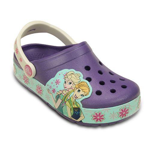 dd6b275f61e Crocs CrocsLights Disney s Frozen Fever Kids  Light-Up Clogs