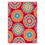 SONOMA Goods for Life™ Floral Medallion Indoor Outdoor Rug