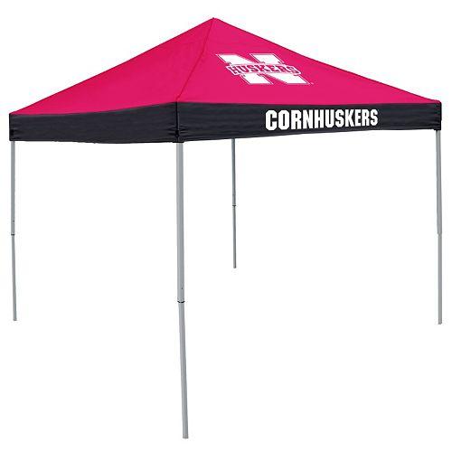 Logo Brand Nebraska Cornhuskers Economy Tent