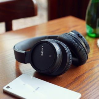 Sony Bluetooth NFC Over-Ear Stereo Headphones