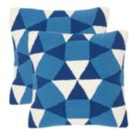 Safavieh 2-piece Abstract Puzzle Outdoor Throw Pillow Set
