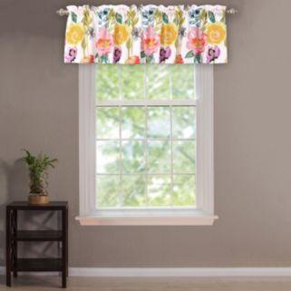 Watercolor Dream Window Valance