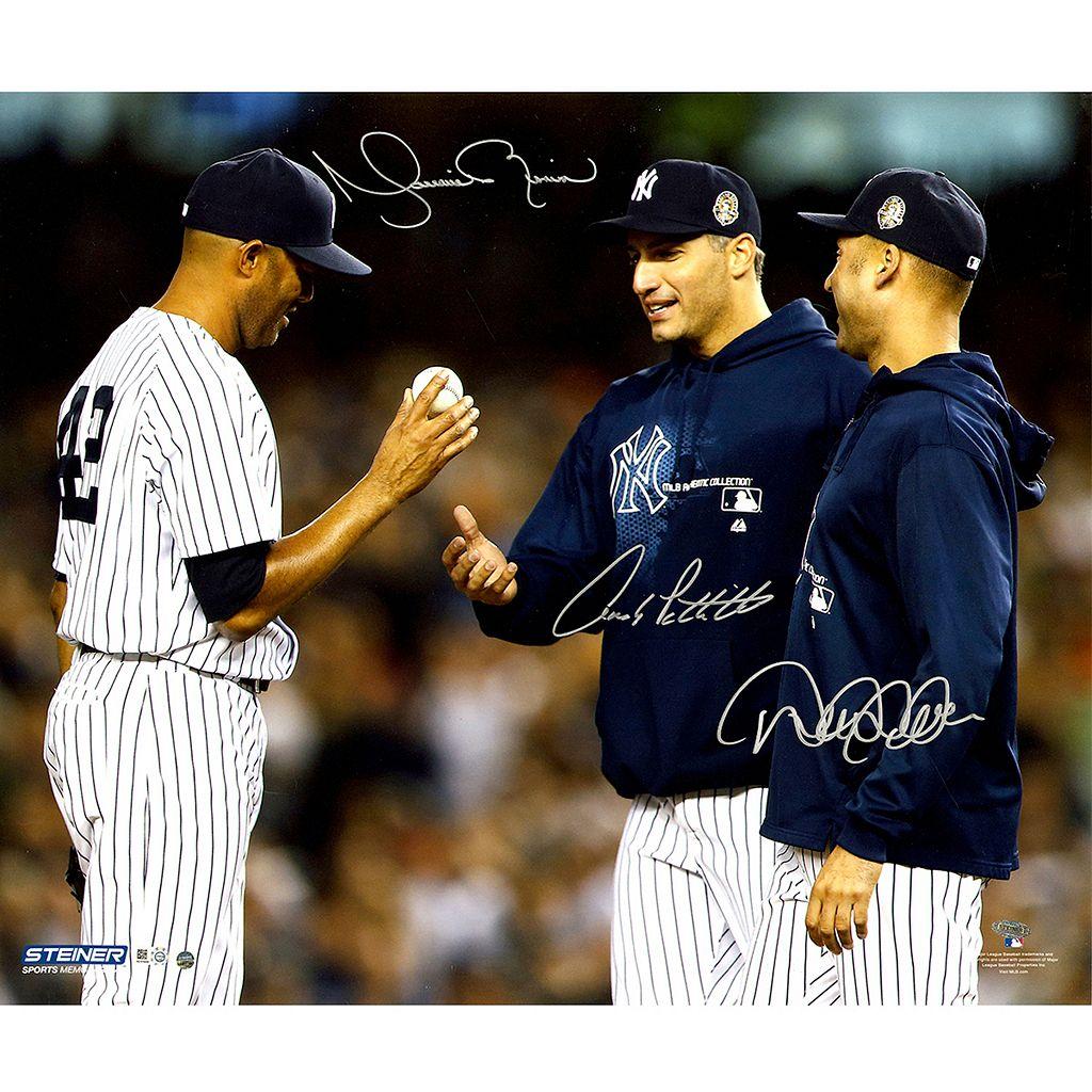 Steiner Sports New York Yankees Derek Jeter, Andy Pettitte & Mariano Rivera 20