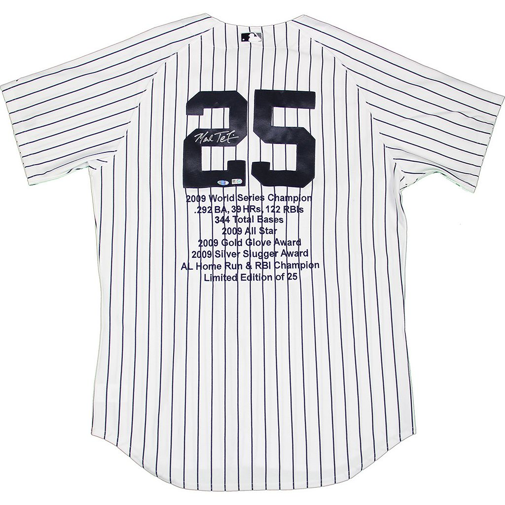 Steiner Sports Mark Teixeira Signed New York Yankees Jersey