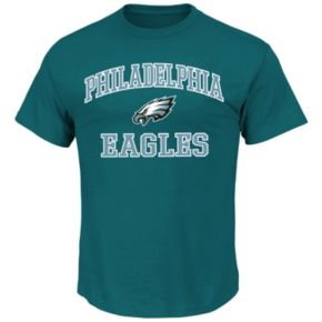 Big & Tall Majestic Philadelphia Eagles Heart and Soul III Tee