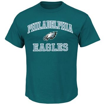 Big & Tall Majestic Philadelphia Eagles Heart and Soul III Tee
