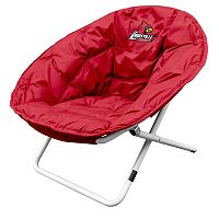 Logo Brand Louisville Cardinals Foldable Sphere Chair
