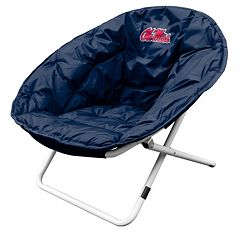 Logo Brand Ole Miss Rebels Foldable Sphere Chair
