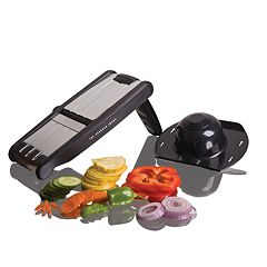 Sharper Image 3-in-1 Adjustable Hand Mandolin Slicer
