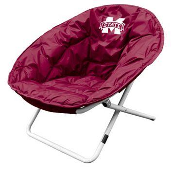 Logo Brand Mississippi State Bulldogs Foldable Sphere Chair