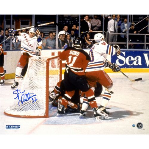 Steiner Sports New York Rangers Stephane Matteau Eastern Conference Finals 16