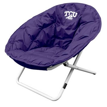 Logo Brand TCU Horned Frogs Foldable Sphere Chair