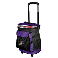 Logo Brand East Carolina Pirates Rolling Cooler