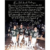 Steiner Sports New York Jets Joe Klecko Signed 16