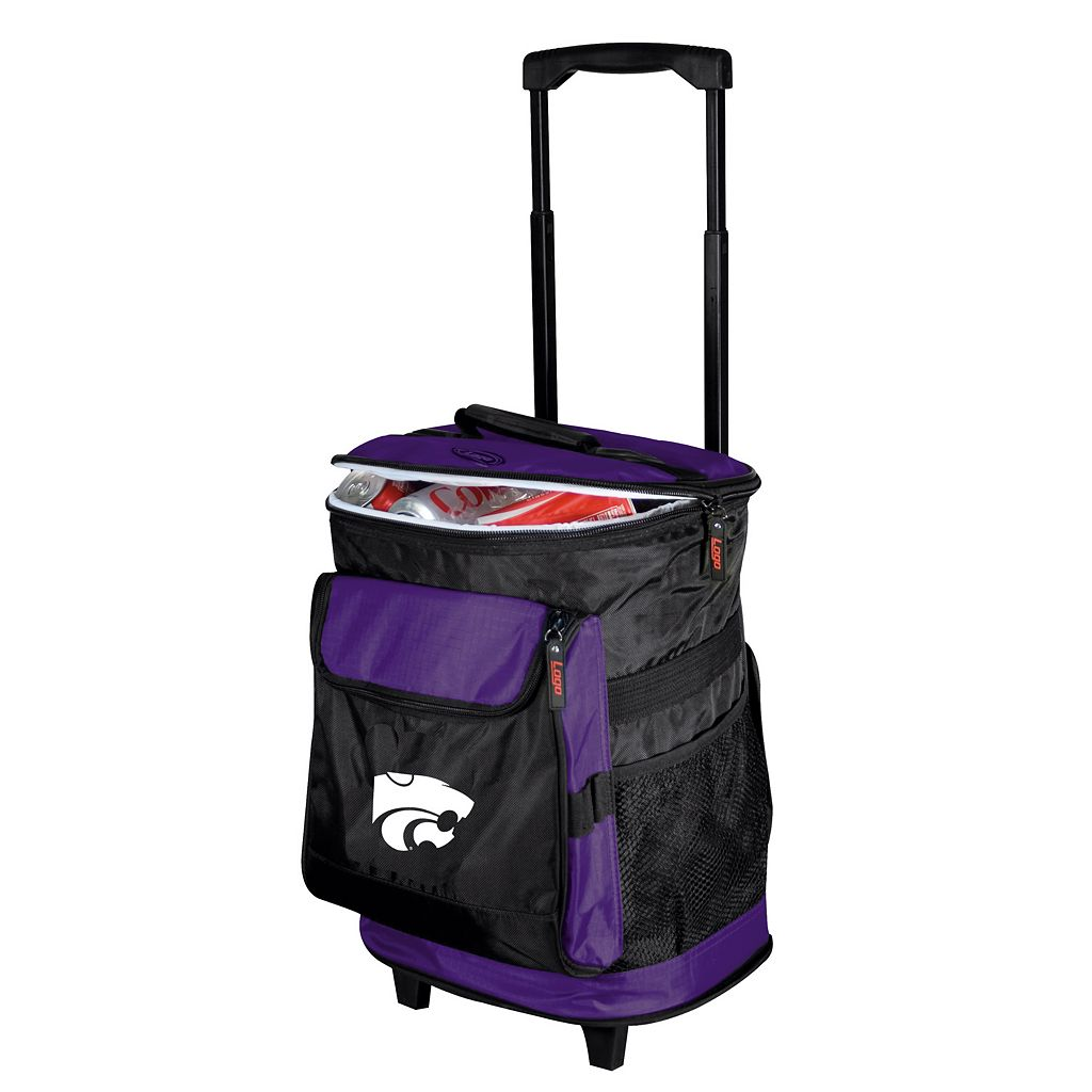Logo Brand Kansas State Wildcats Rolling Cooler