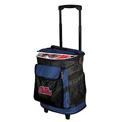 Logo Brand Ole Miss Rebels Rolling Cooler
