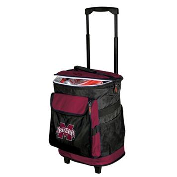 Logo Brand Mississippi State Bulldogs Rolling Cooler
