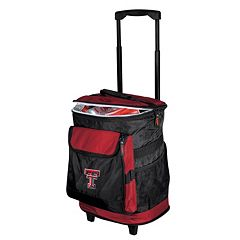 Logo Brand Texas Tech Red Raiders Rolling Cooler