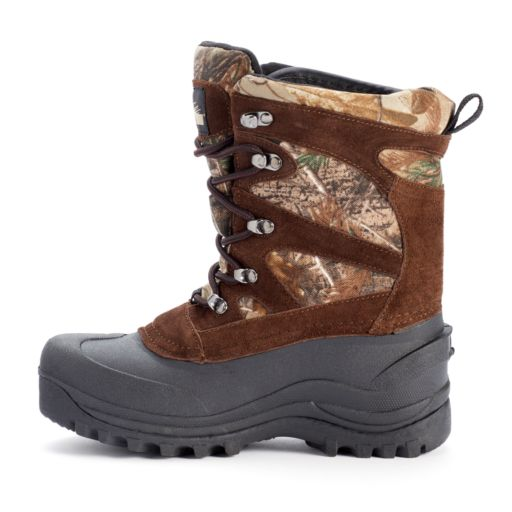 Itasca Ketchikan Camo Youth Mid-Calf Boots