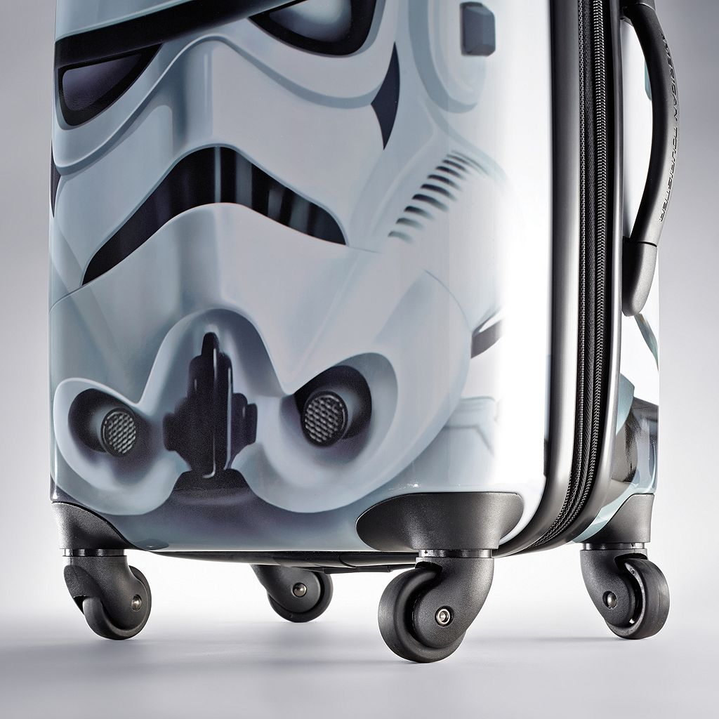 Star Wars Stormtrooper 21-Inch Hardside Spinner Carry-On Luggage by American Tourister