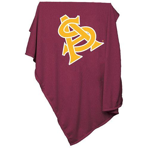 Logo Brand Arizona State Sun Devils Sweatshirt Blanket