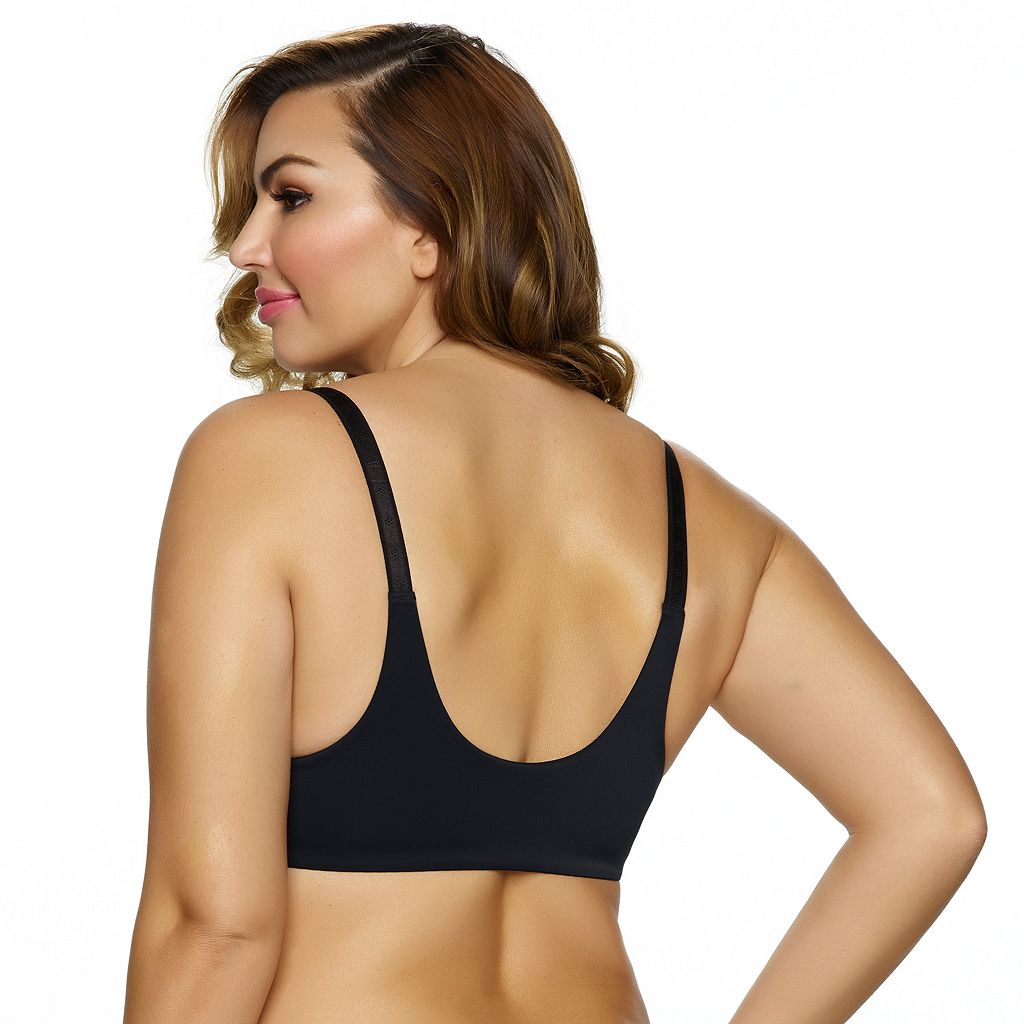 Paramour by Felina Bra: Gorgeous Front-Close Full-Figure Plunge Bra 235455
