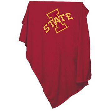Logo Brand Iowa State Cyclones Sweatshirt Blanket