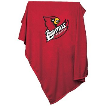 Logo Brand Louisville Cardinals Sweatshirt Blanket