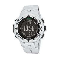 Casio Men's PRO TREK Triple Sensor Solar Digital Watch - PRG300-7K