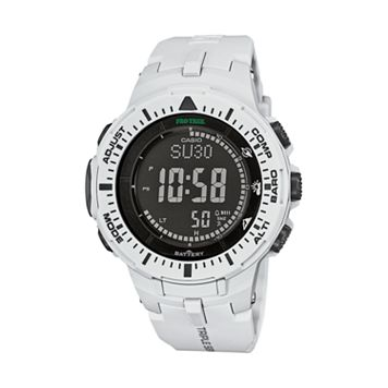 Casio Men's PRO TREK Triple Sensor Solar Digital Watch - PRG300-7K