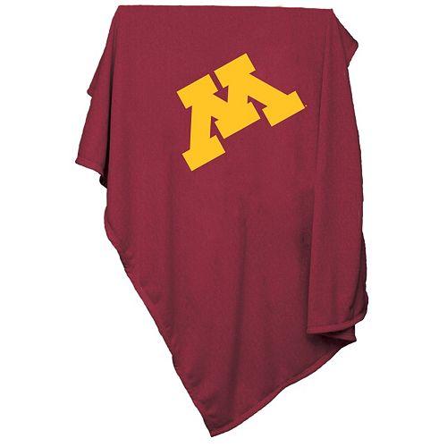 Logo Brand Minnesota Golden Gophers Sweatshirt Blanket