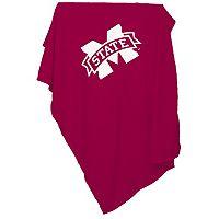 Logo Brand Mississippi State Bulldogs Sweatshirt Blanket