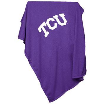 Logo Brand TCU Horned Frogs Sweatshirt Blanket