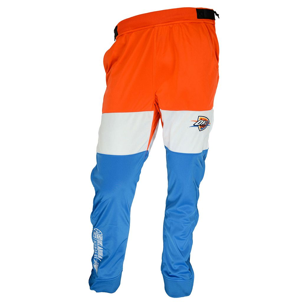 Men's Zipway Oklahoma City Thunder Stadium Sport Pants