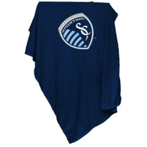 Logo Brand Sporting Kansas City Sweatshirt Blanket