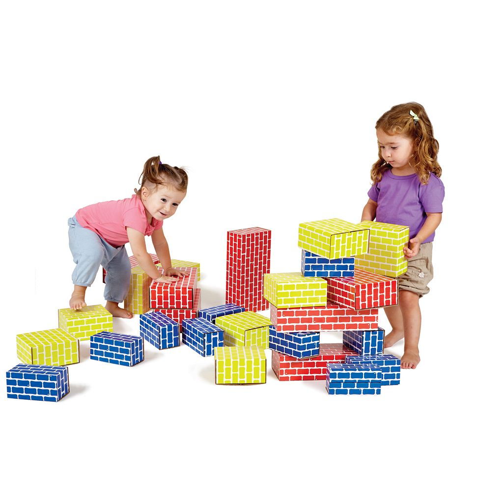 Edushape 84-pc. Corrugated Blocks